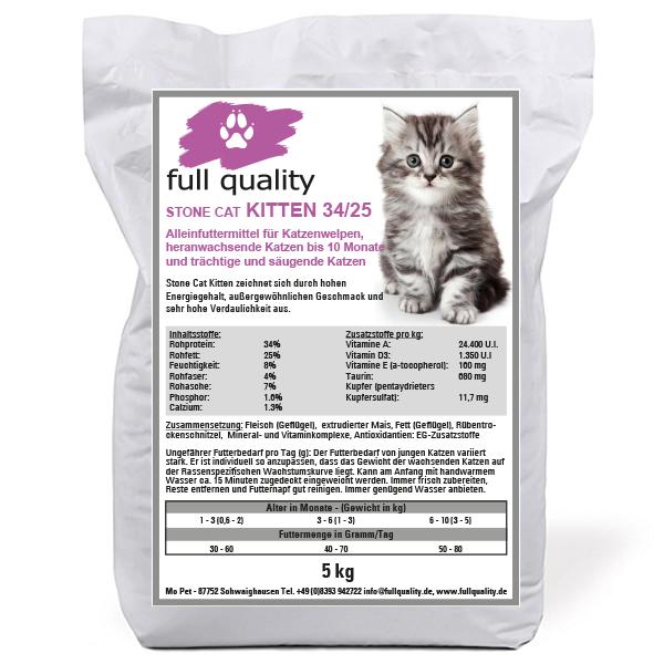 Stone Cat Kitten 34/25 - 15 kg