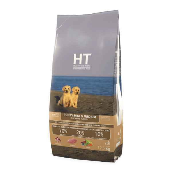 HT MINI&MEDIUM Puppy Chicken & Turkey 3 kg
