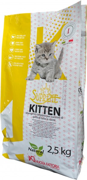 SUPREME Cat KITTEN 32/25 - 2,5 kg
