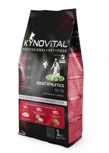 Kynovital ADULT Athletics 28/20 3kg