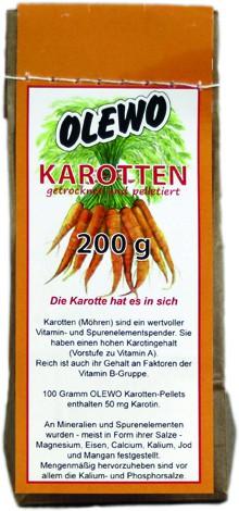 Olewo Karotten Pellets 200g