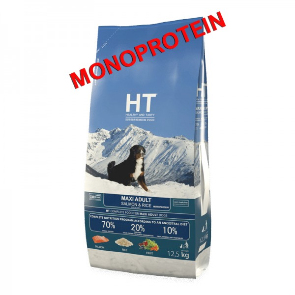 HT MAXI Adult Salmon & Rice 12,5 kg