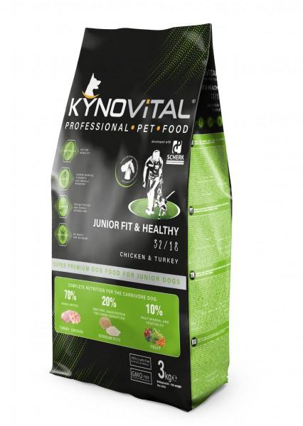 Kynovital JUNIOR Fit & Healthy 32/18 3kg