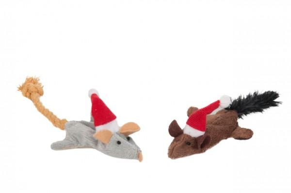 Weihnachtspielzeug Knistermaus