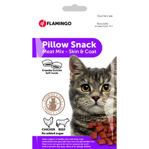 Pillow Katzensnack Haut & Haar 50g