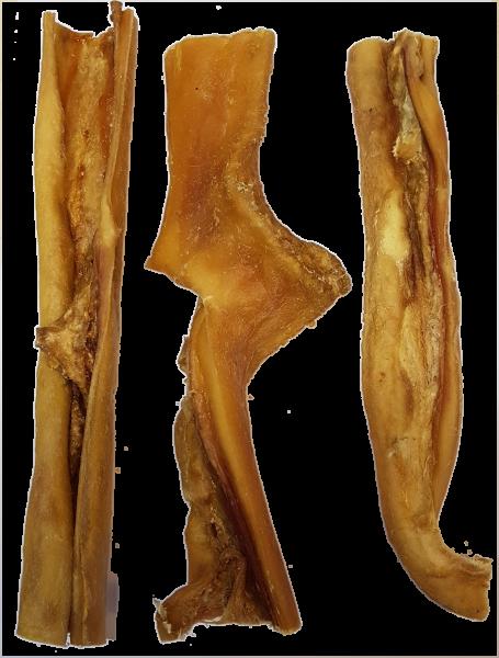 2,5 kg Rinderkopfhaut geschnitten 25cm