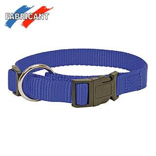 Halsband Nylon Blau 30/45 cm