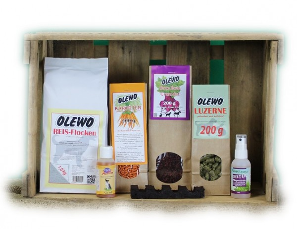 Olewo Testpaket für Hunde